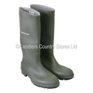 Dunlop Pricemaster Wellington Boot Size 10 Green Ref Bbg10