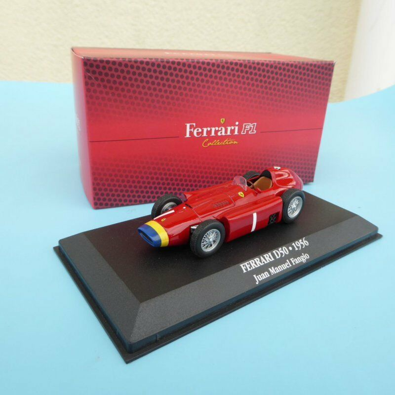 ATLAS EDIZIONE FERRARI D50 J.M FANGIO F1 Collection Neuwertig  in OVP