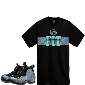 WeWillFit shirt to match Nike Air Foamposite One PRM ABALONE Black ... 7203ac97d9