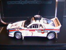 LANCIA 037 RALLY #7 SAFARI 1984 ALEN KIVIMAKI HPI RACING 8230 1/43 MARTINI LHD