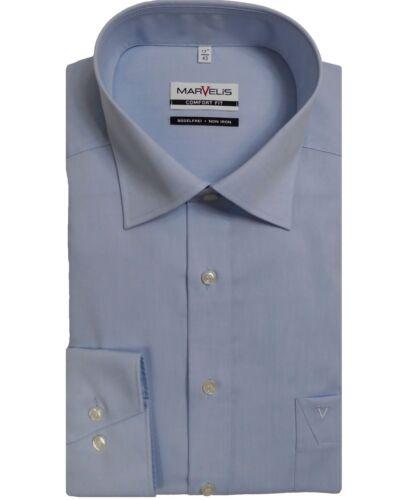 Camicia Marvelis Comfort Fit Blu Chiaro 7959.64.11