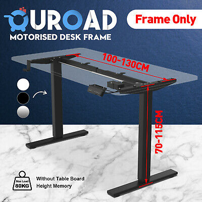 Details about  Frame Only Standing Table Height Adjustable Electric Sit Motorised Office Desk