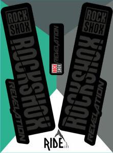 Enduro RockShox Sektor 2018 Style Sticker Decal Sets White DH
