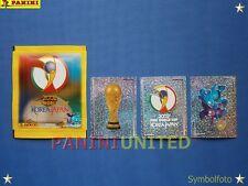 Panini★WM 2002 WC 02 World Cup★ Sticker Nr. 1,2,3 - ungeklebt, mint-condition