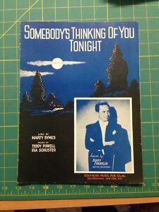 Somebody-039-s-Thinking-Of-You-Tonight-Sheet-Music