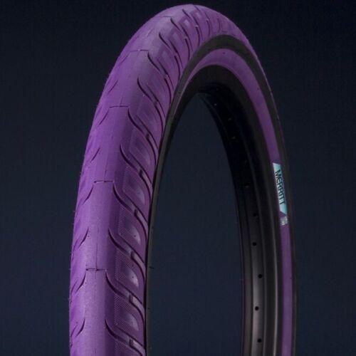 "MERRITT BMX OPTION TIRE PURPLE BMX BICYCLE TIRE 20/"" x 2.35/"""