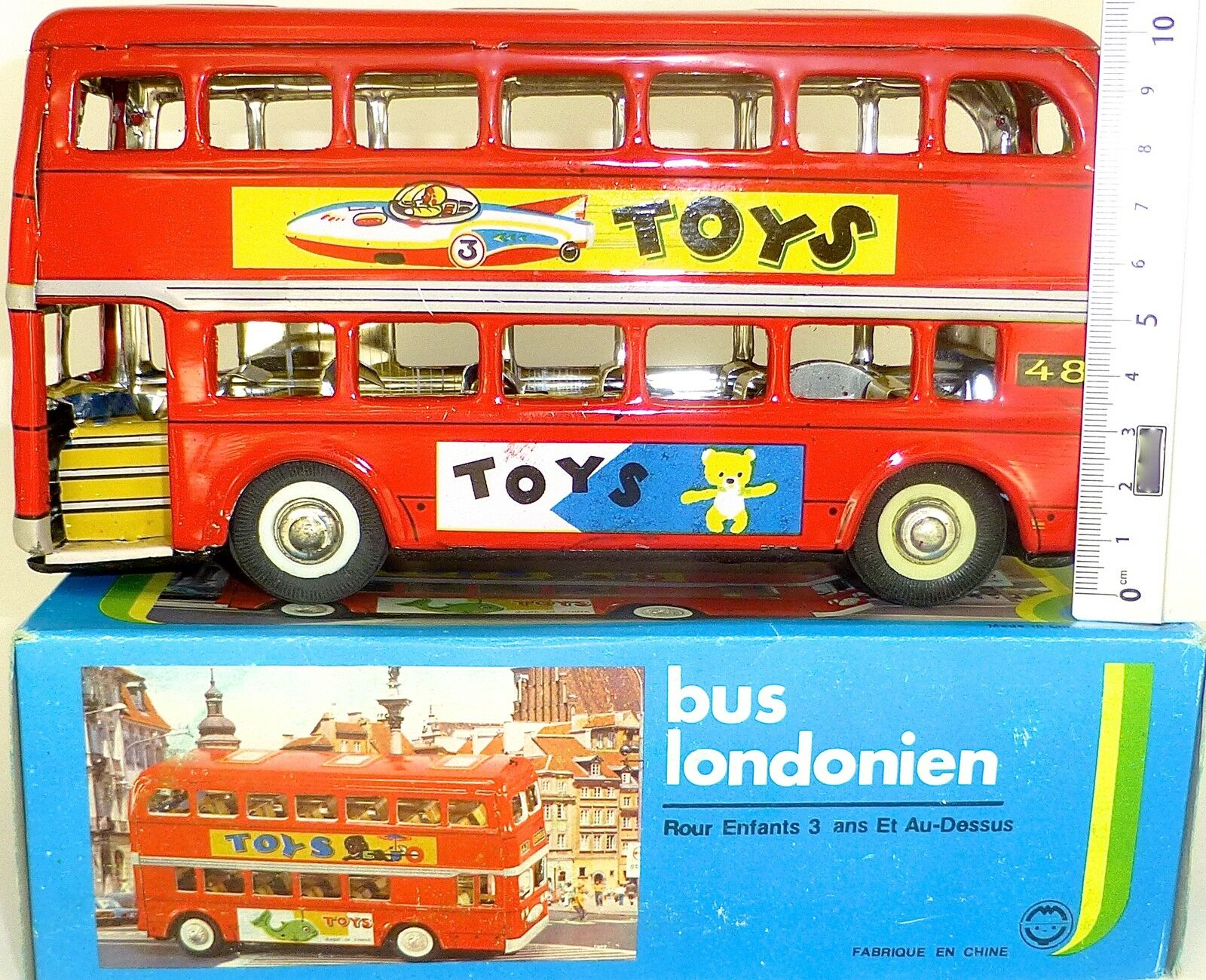 Doppio Tetto Bus Londra Ien Lamiera Rosso KA5 Å