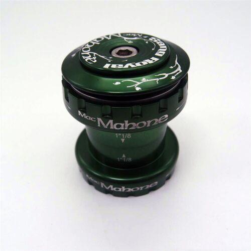 "Mac Mahone Sang Royal 34mm 1-1//8"" Road MTB Bicycle Bike Headset Green"