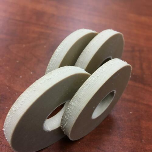 """Soft Natural Rubber Washer 2/"""" OD x 3//4/"""" ID x 1//4/"""" Thick 40 Durometer"""