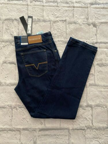 36R 32 L 36 W coupe standard Atelier GARDEUR Jeans Bnwt Nevio 11