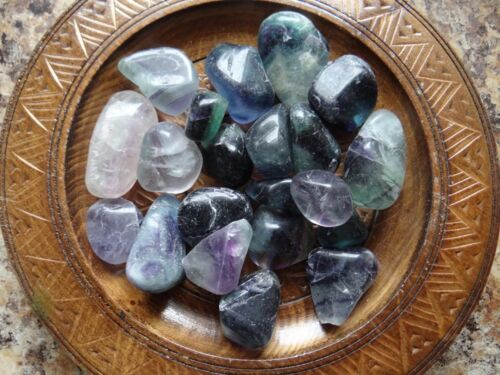FLUORITE 1//4 Lb Gemstone Specimens Tumbled Wiccan Pagan Metaphysical