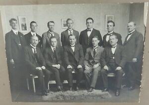 RARE-1923-MARYBOROUGH-VIC-ORIGINAL-PHOTO-MARYBOROUGH-SWIMMING-CLUB-COMMITTEE