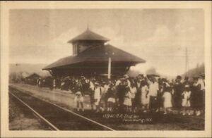Fallsburg-NY-RR-Train-Depot-Station-c1910-Postcard