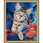 Schipper Cat in Backpack Kit & Frame Paint-by-Number Kit