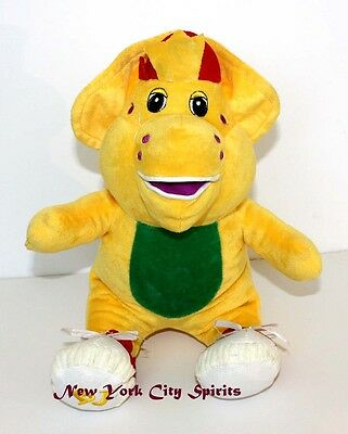 """Barney Plush BJ Singing """"I Love You"""" Song 13 inches"""