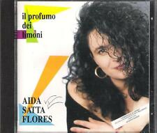 "AIDA SATTA FLORES - RARO CD 1992 "" IL PROFUMO DEI LIMONI "" NOMADI AUGUSTO DAOLIO"