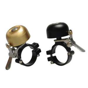 Retro Mini Mountain Bike Handlebar Copper Warning Bell Horn Reliable Useful