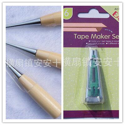 Bias Tape Maker Kit 6mm Binding Tool Guide Strip Sewing Quilting Big Demand Good