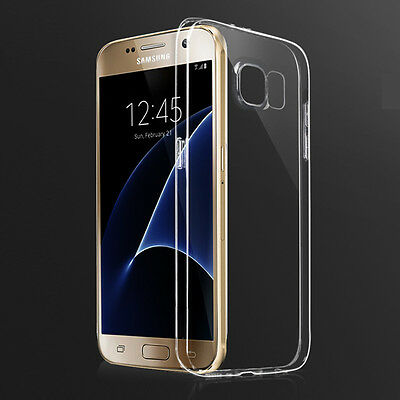 Ultra Thin Soft TPU Clear Case Transparent Cover for Samsung Galaxy S7/S6/Edge/+