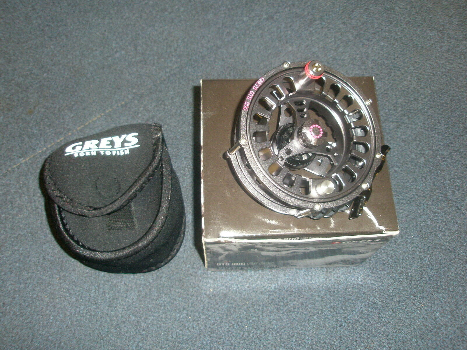 grigios GTS800  911 FLY REEL  Astuccio in Neoprene Pesca Tackle