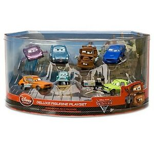 Details About Disney Cars 2 Deluxe 7 Pvc Figure Play Set Tow Mater Cake Topper Bath Toy