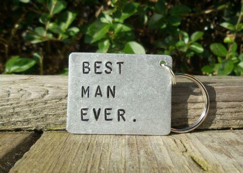 El mejor hombre jamás Idea de Regalo Boda Gracias Gracioso mejor hombre Regalos recuerdo favores