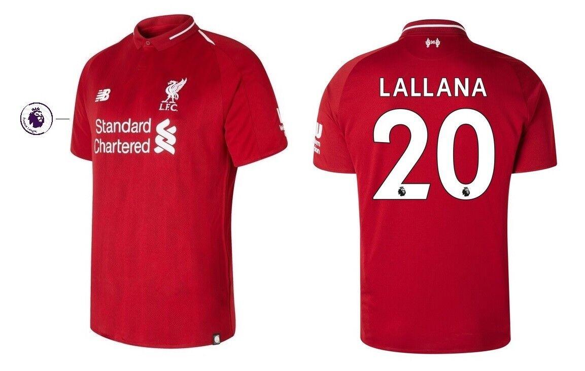 Trikot New Balance FC Liverpool 2018-2019 Home PL - Lallana 20 [152-XXL]