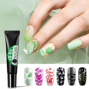 Details About Ur Sugar 8ml Stamping Soak Off Uv Gel Polish Gold Silver White Nail Art Design