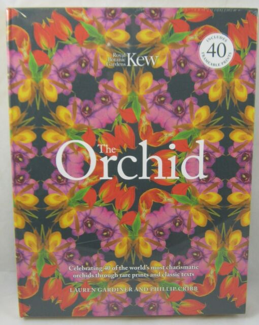 The Orchid (Royal Botanical Gardens, Kew) by Lauren Gardiner 9780233005492