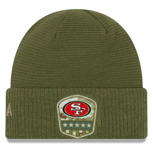 New Era Salute to Service Wintermütze San Francisco 49ers