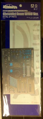 Aoshima Beemax 083000 1:24 2012 Chevrolet Cruze WTCC Grade Up Set