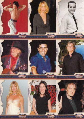 AMERICANA SERIES 2 2008 DONRUSS BASE CARD SET OF 100 STARS OF ENTERTAINMENT MS