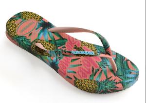 804761b470c1dd Havaianas Women`s Flip Flops Slim Paradise Sandal Ballet Rose Summer ...
