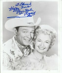ROY ROGERS & DALE EVANS SIGNED Photo