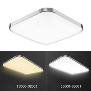 LED-12W-plafonnier-Plafond-Lampe-lumiere-Cuisine-Salon-Blanc-Chaud