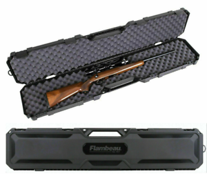 Rifle-Shotgun-Hard-Carry-Case-Single-Gun-Storage-Box-Padded-Tactical-Hunting
