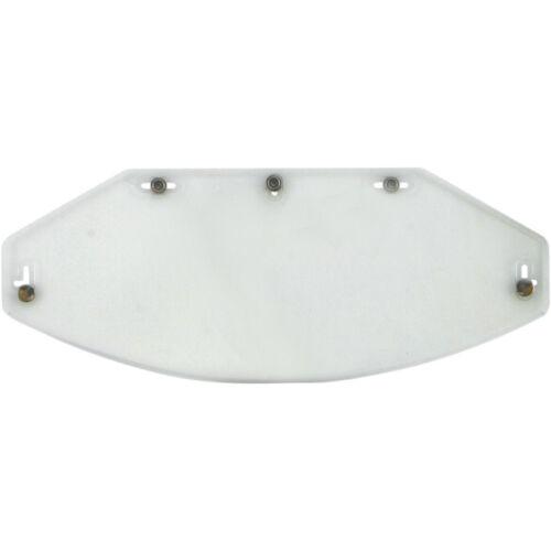 Visiera Shield Visor Trasparente Casco Jet 5 Bottoni Automatici Flat Clear Piatt