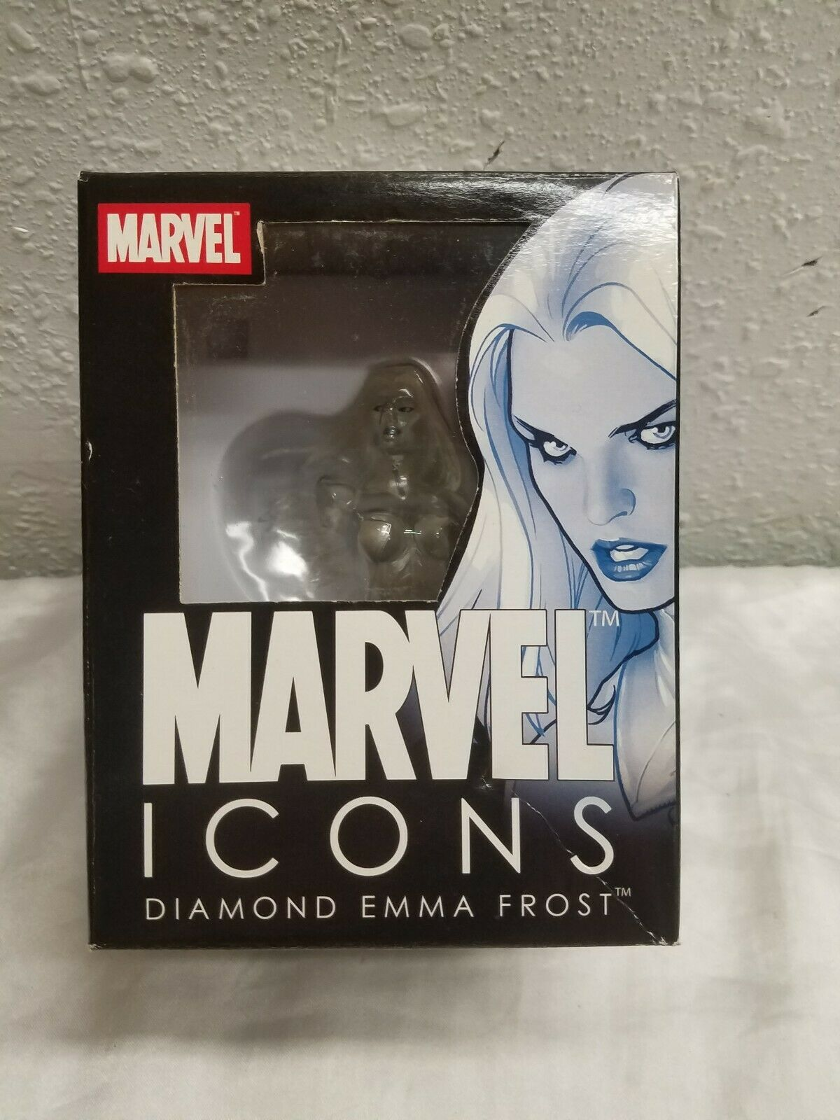 2007 Marvel Icons X-men Diamond Variant Emma Frost (white Queen) Bust 67 600