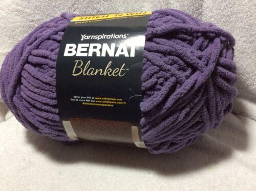 Bernat Blanket Yarn 10.5oz Winter Grape