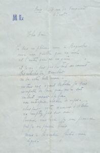 Marie-LAURENCIN-Lettre-autographe-signee-a-Jean-Royere