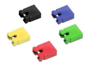 25-X-Mezclado-Color-Clasificados-2-Pines-Puente-SET-SURTIDO-Cortocircuito