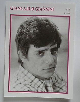 (s04) Starportraitkarte - Giancarlo Giannini