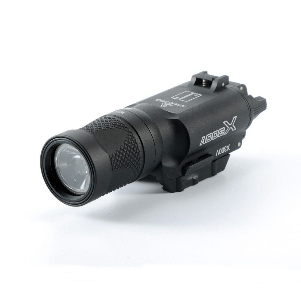 Tactical X300V- IR Flashlight Airsoft fit LED Light Torch Flashilight fit Airsoft 20mm Rail 0f977d