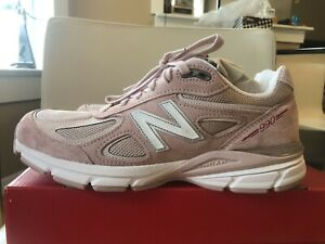 info for 7ceda 6ec5f Details about New Balance 990 V4 Pink Men's Running Dad Shoe Sz 9.5 Made  USA Faded Rose Komen