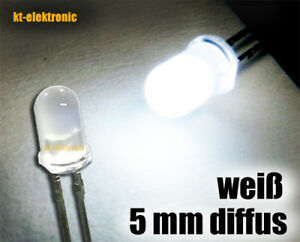50-Stueck-LED-5mm-weiss-diffus-ultrahell-16000mcd