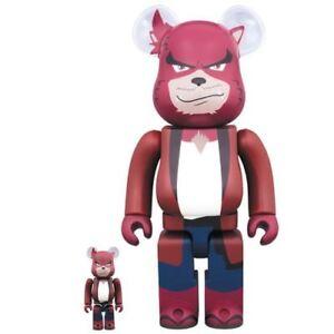 Medicom Be @ rbrick Le jeu d'animation Kumatetsu pour garçons et bêtes 400% / 100% ours