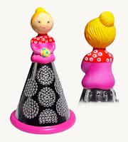 Pylones Kitchen Cheese Shredder Vegetable Grater Pink Lady Decorative Figurine