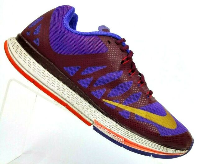 finest selection a43a5 aa78e Nike Air Zoom Elite 7 Purple/maroon Running Athletic Sneaker Shoes Women's  8.5