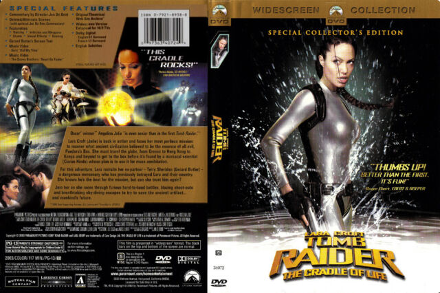 LARA CROFT TOMB RAIDER THE CRADLE OF LIFE DVD COLLECTOR'S ...