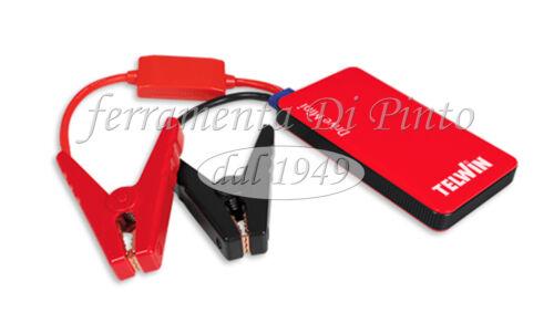 AVVIATORE JUMP STARTER PORTATILE TELWIN DRIVE MINI 12V PER AUTO POWERBANK USB